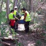 Como siempre algunos residuos son muy pesados y es necesario trabajar en equipo
