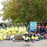 Un día mas acabamos la jornada con una gran montaña de basura, hemos hecho una gran labor!