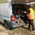 Sacamos ¡¡una furgoneta entera de plásticos de una finca!!