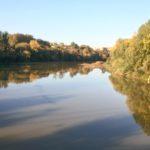 Así amanecía el Ebro esa mañana