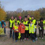 Familia y amigos voluntarios