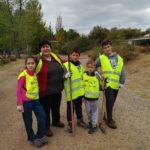 Pilar y sus gemelos con sus amigos hicieron una labor impresionante!!! Gracias familia