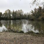 El Ebro, tan espectacular como siempre...