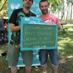 Algunos participaron en la jornada por responsabilidad ambiental ¡Y además se lo pasaron en grande!