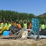 Nuestros voluntariosos amigos de Fuenmayor dejaron como la patena el bonito Soto de El Barco